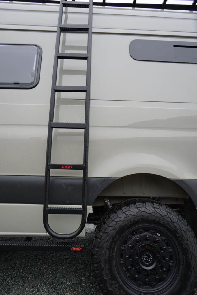 The new MOAB ladder from Stoked Adventure Outfitters